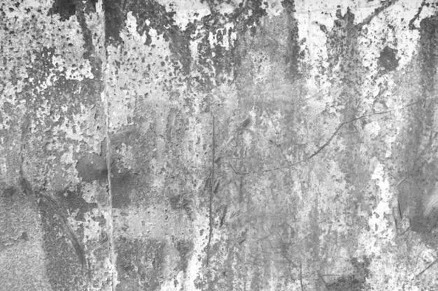 Mur de ciment endommagé au fil du temps