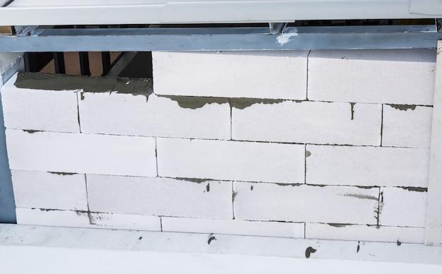 Mur de construction