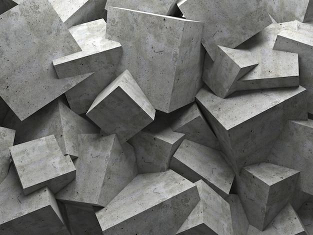 Mur de cubes