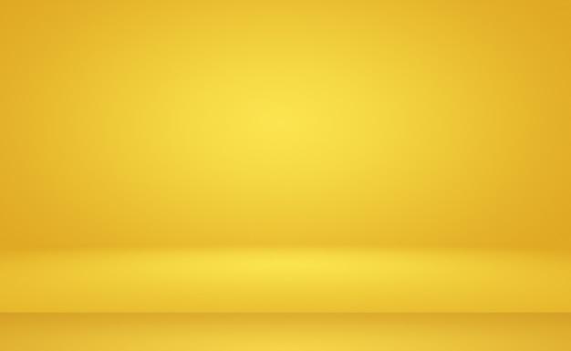 Mur de dégradé jaune or de luxe abstrait