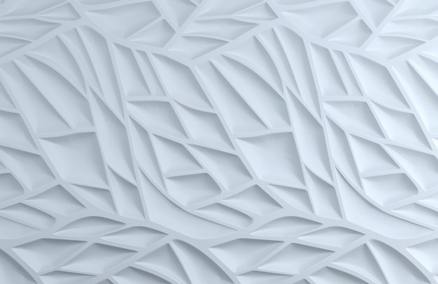 Mur de feuilles blanches