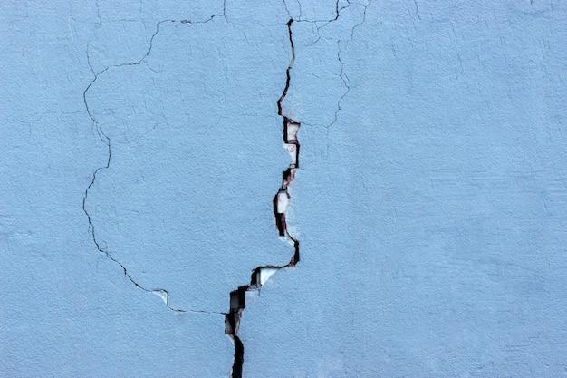 Mur avec des fissures