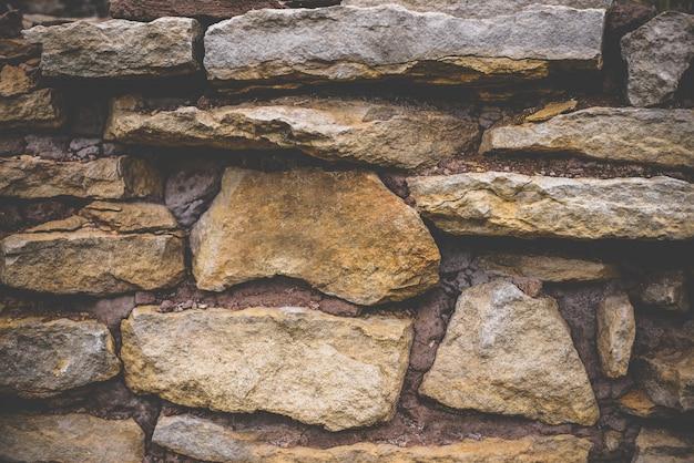Mur de fond de pierres jaunes
