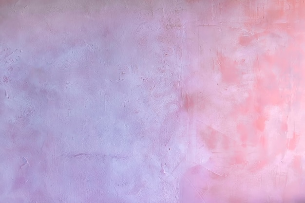 Mur de fond de texture bleu et rose avec structure en plâtre vénitien d'un mur de ciment