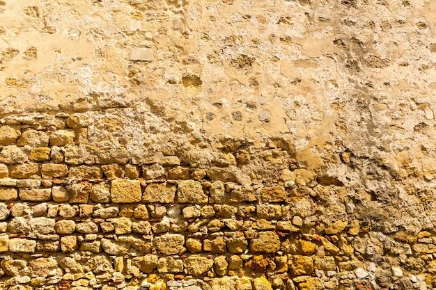 Le mur de fond de vieux bâtiment