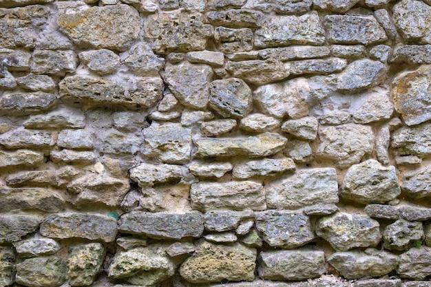 Mur de grès naturel