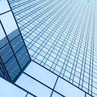 Mur d'immeuble de bureaux - arrière-plan architectural
