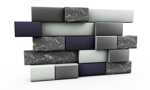 Mur intérieur vide de fond avec le sol de texture en pierre