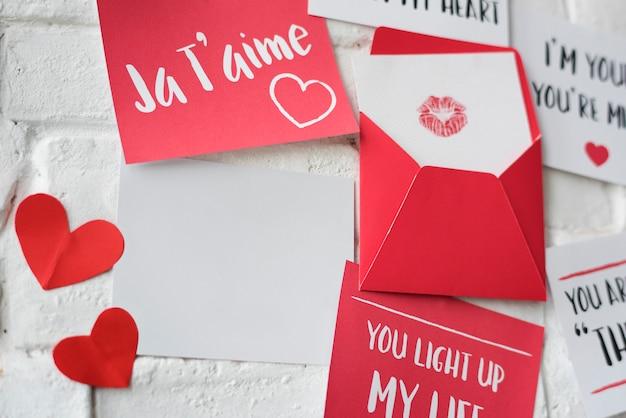 Mur des lettres d'amour ja t'aime