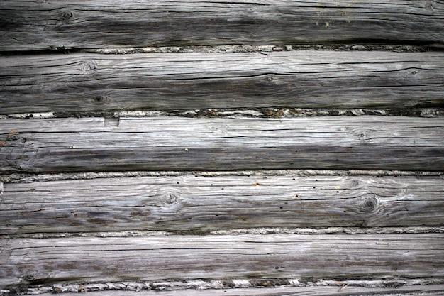 Mur de maison en bois. texture naturelle.