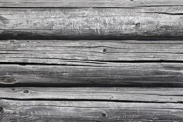 Mur de maison en bois