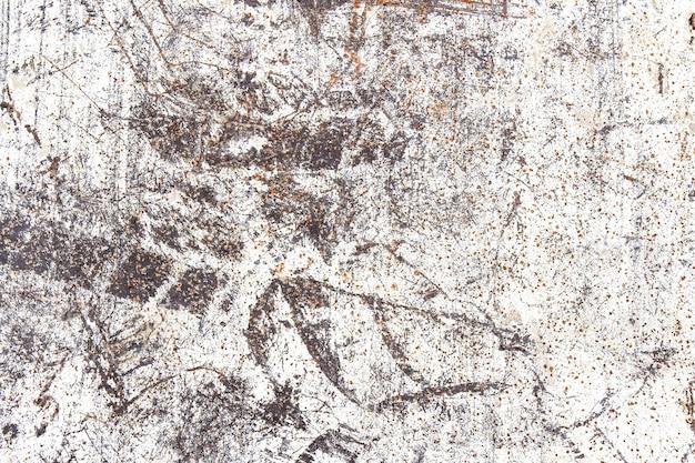 Mur de métal grungy rouillé abstrait