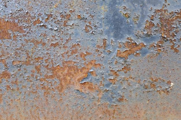 Mur de métal avec de la rouille. corrosion du métal. photo de haute qualité