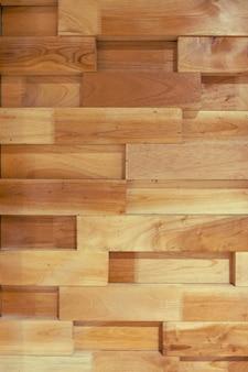 Mur de morceau de bois sur fond.modren décorer.