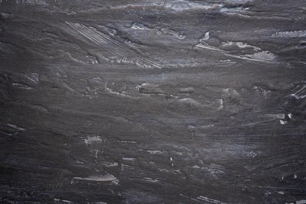 Mur noir et gris minable avec des stries, texturé