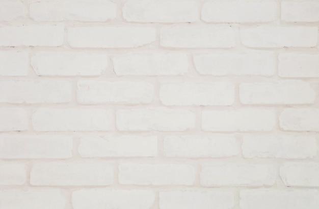 Mur de papier peint de brique de couleur crème de surface