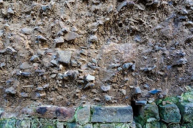 Mur de pavés