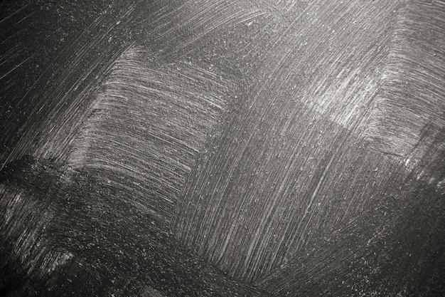 Mur de peinture en stuc noir