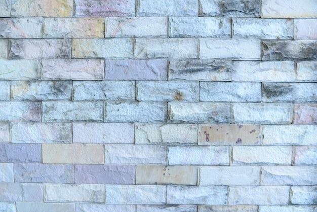 Mur de pierre de briques pour le fond.