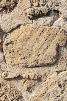 Mur de pierre de fond blanc