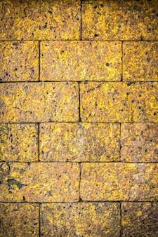 Mur en pierre de latérite