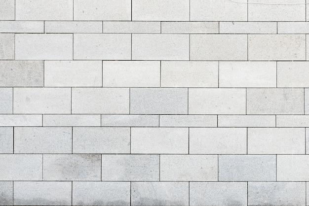 Mur de pierre moderne