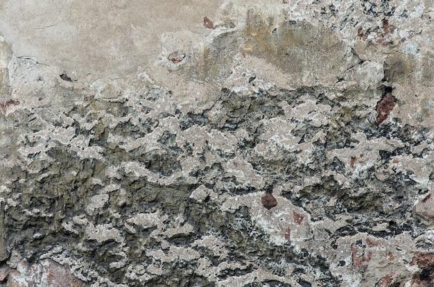 Mur de pierre en stuc grunge