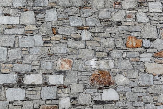 Mur de pierre texture de blocs de béton naturel. mur avec espace copie.