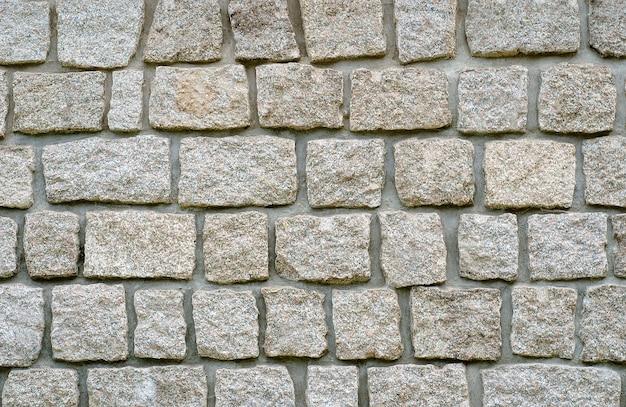 Mur de pierre de texture de granit