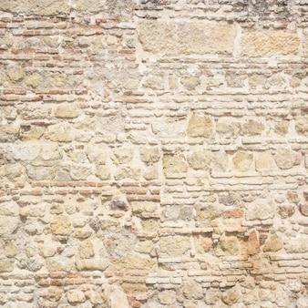 Mur de pierre vieillie