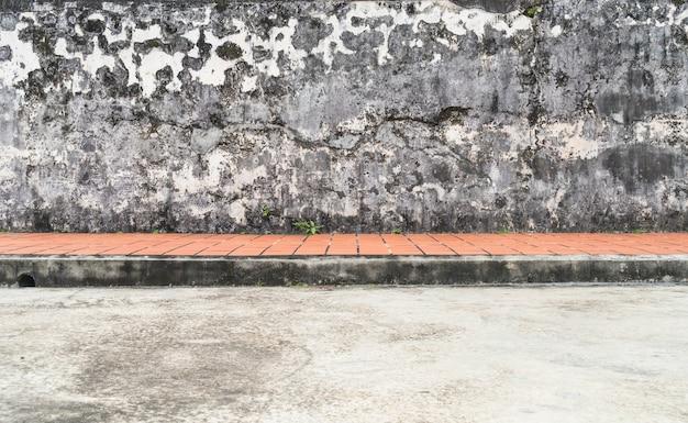 Mur sale sale et grunge