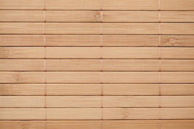 Mur de serviettes en bambou, vue de dessus, fond