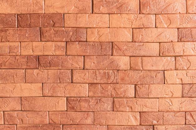Mur de stuc en béton de ciment. mur de briques