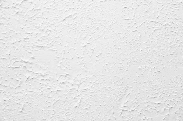 Mur texturé blanc. plâtrage décoratif