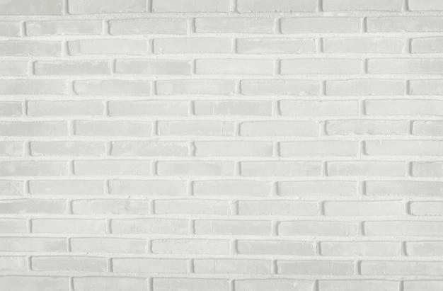 Mur de texture de mur de brique gris blanc avec un vieux modèle de style sale et vintage
