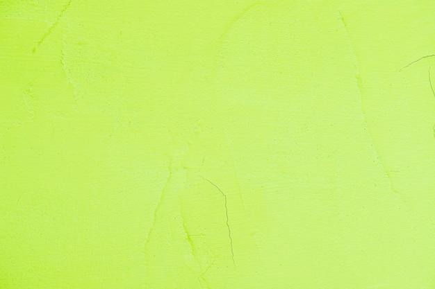 Mur texturé peint en vert vide