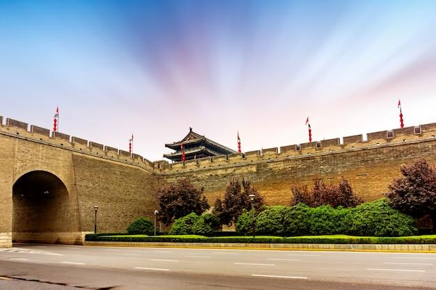 Mur de la ville antique
