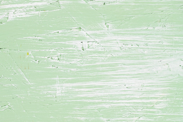 Mur vintage peint vert clair