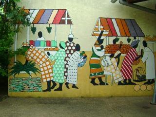 Murale de la culture