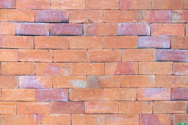 Murs de brique brune