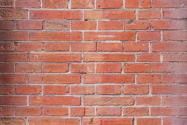 Murs de briques rouges