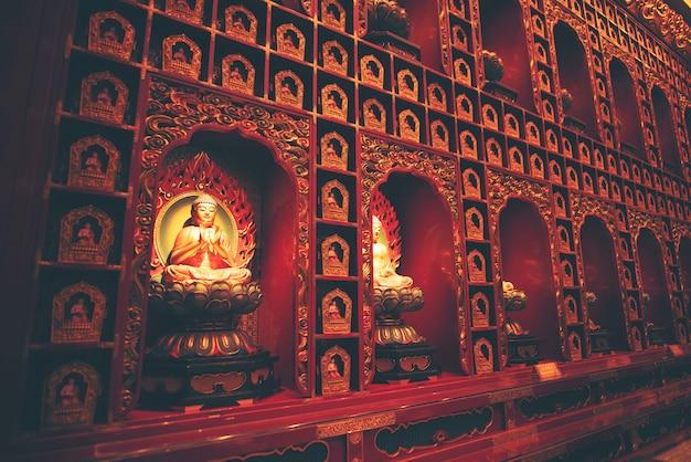 Murs dans les temples hindous