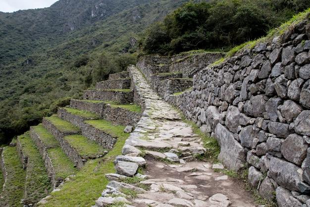 Murs à machu picchu