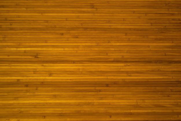 Les murs sont en bambou