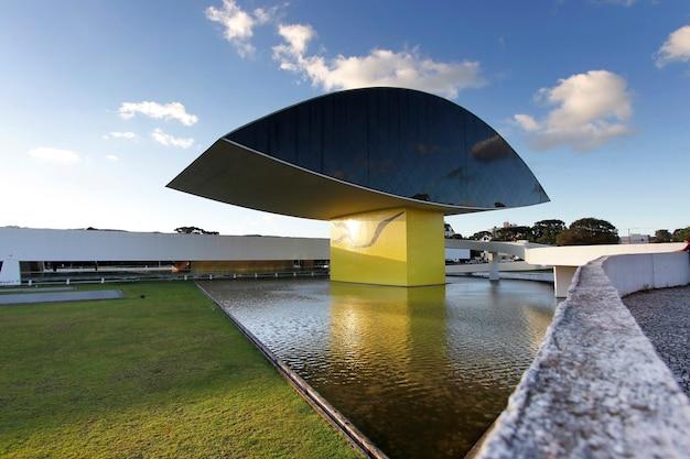Musée de curitiba, état de parana, brésil
