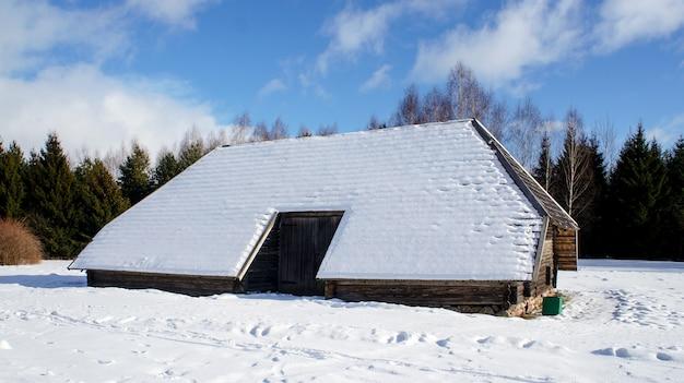 Musée d'etat biélorusse d'architecture populaire, région de minsk, village d'azjarco, biélorussie