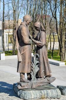 Musée d'état biélorusse de la grande guerre patriotique, a invité les visiteurs après la restauration de nombreuses expositions.