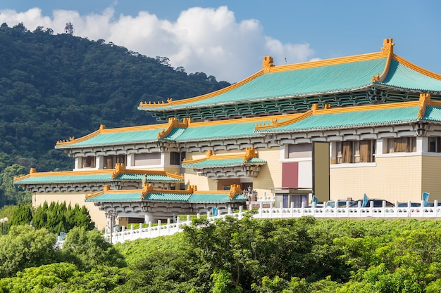 Musée national gugong à taipei