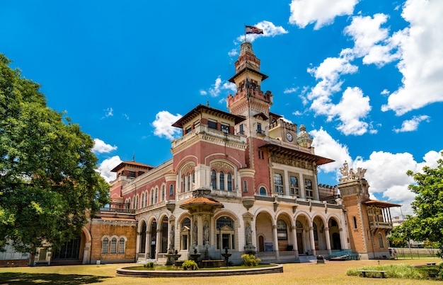 Musée des sciences palacio das industrias à sao paulo