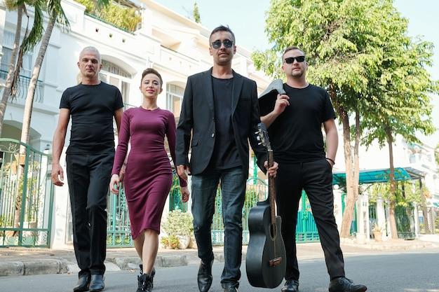 Des musiciens talentueux et confiants